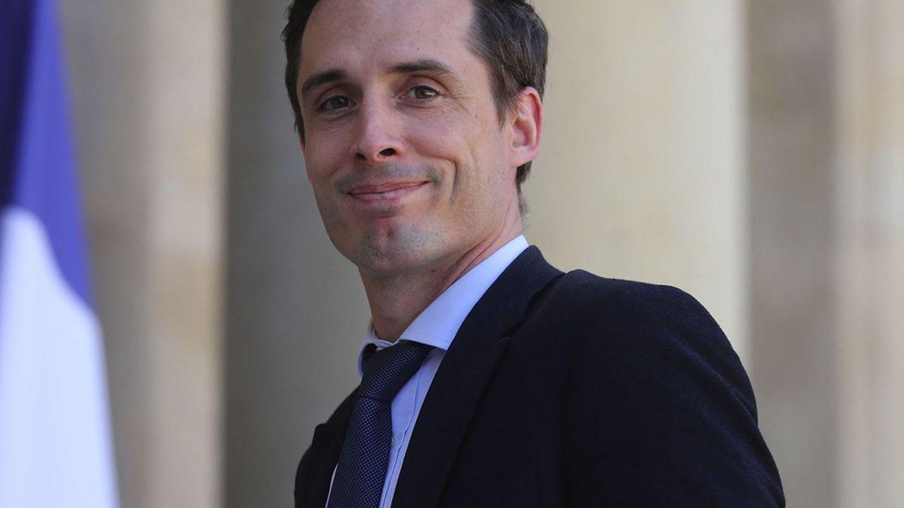 Jean-Baptiste Djebbari, ministre délégué aux Transports, juillet2020.