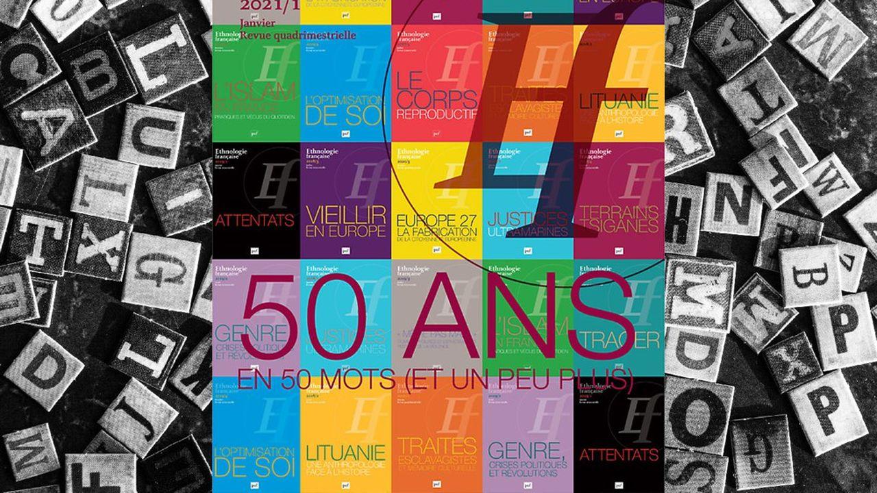 «50 ans en 50 mots (et un peu plus)», Ethnologie française, n°2021/1, 24euros.