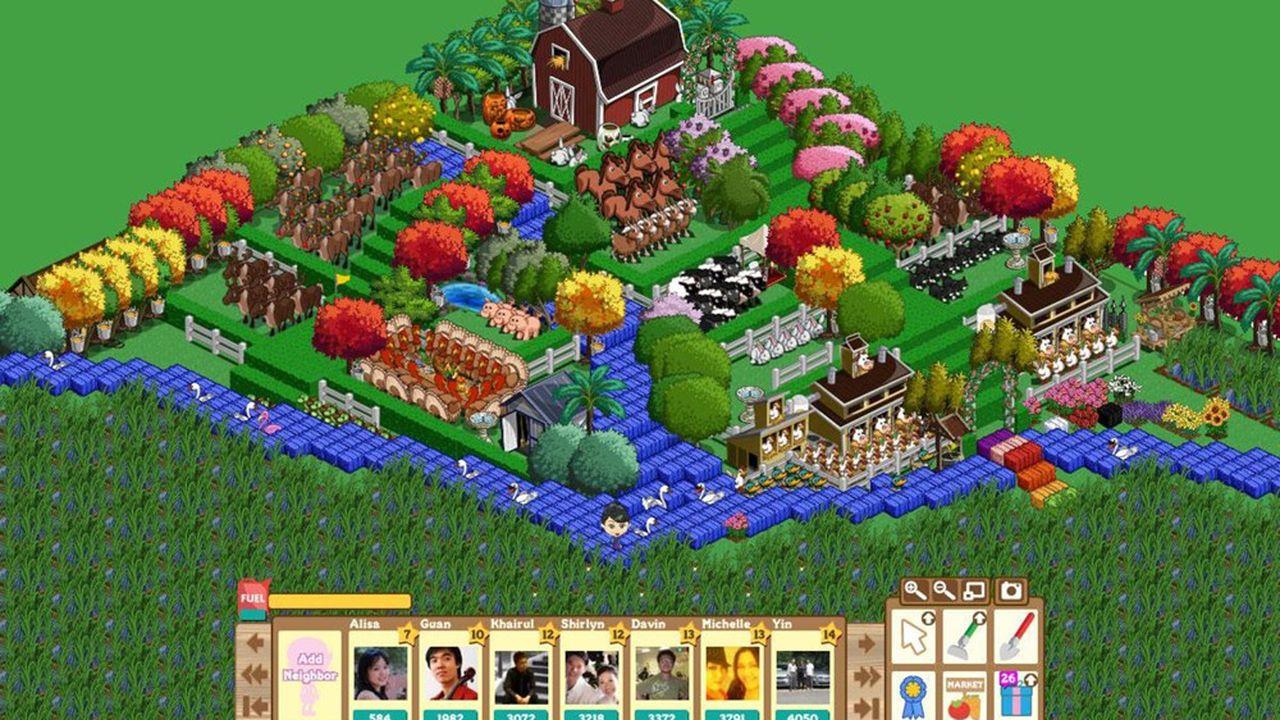 Zynga est notamment le créateur du jeu «FarmVille».