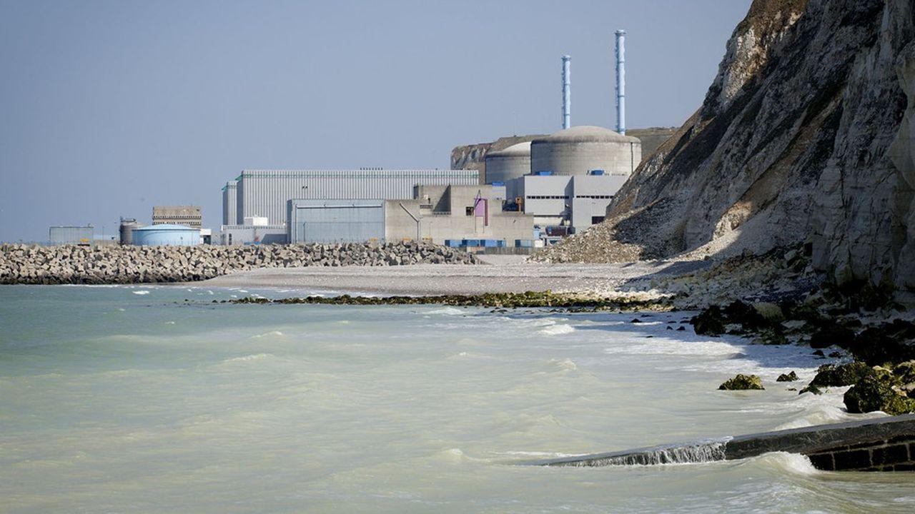 La centrale de Penly pourrait accueillir les premiers EPR de nouvelle génération.