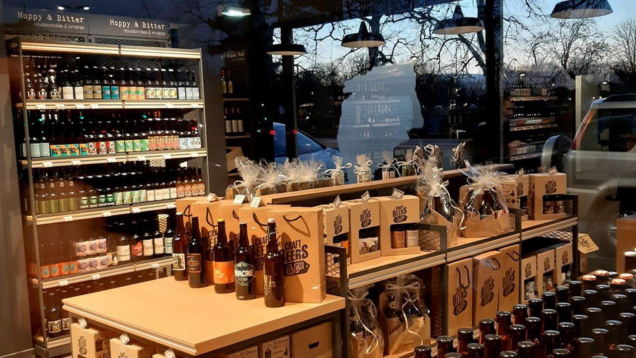 Créé par Nicolas, le concept Craft Beers & Cie se consacre aux bières artisanales et dispose déjà de quatre boutiques.