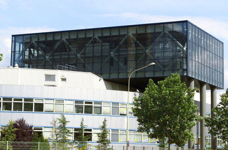 Vue générale du laboratoire de microbiologie P4, à Lyon.