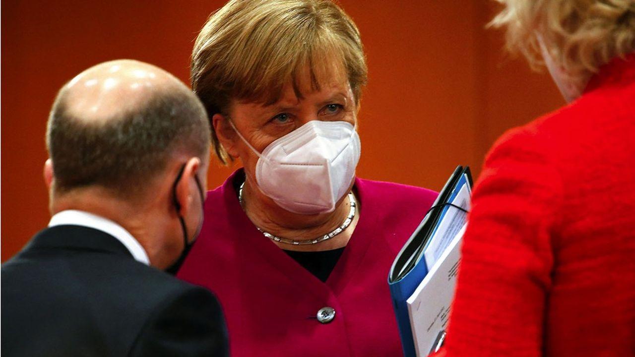 Pour le gouvernement d'Angela Merkel, lever la propriété intellectuelle sur les vaccins anti-Covid va brider l'innovation sans résoudre la pénurie.