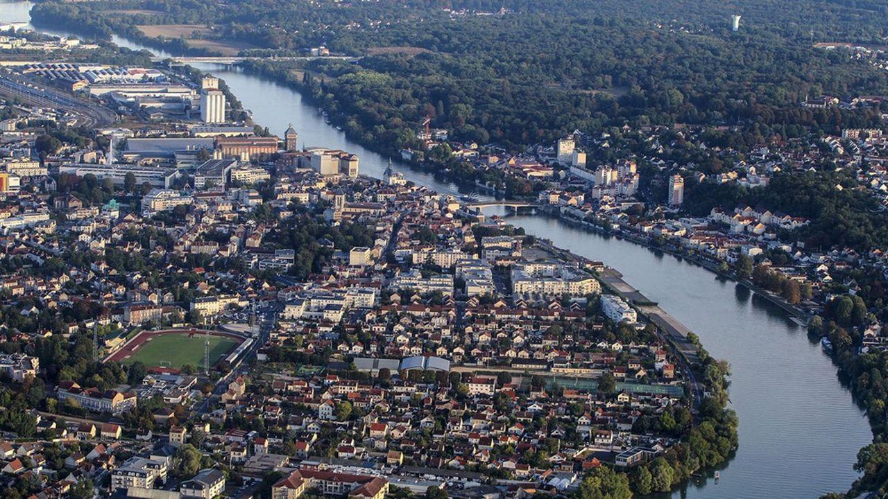 Le centre-ville de Corbeil-Essonnes va faire l'objet d'un vaste réaménagement.