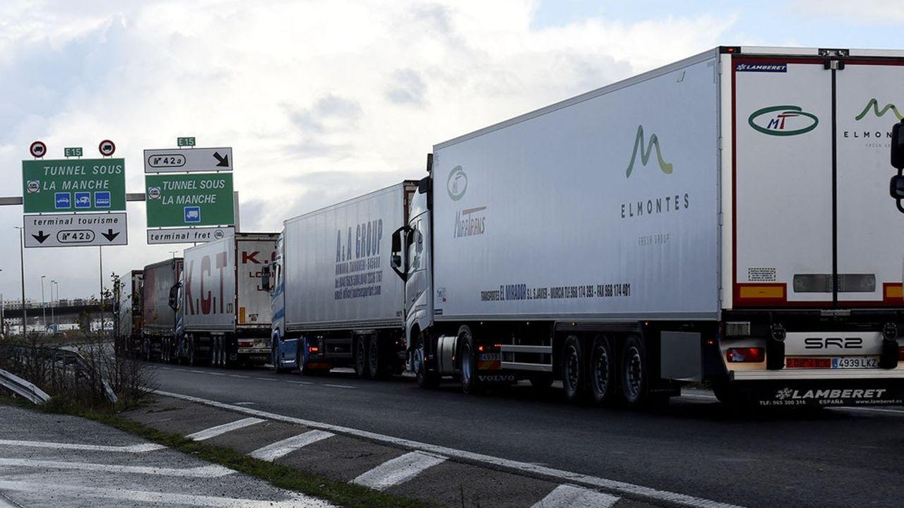 Les transporteurs ont rapidement compris quels papiers étaient nécessaires.