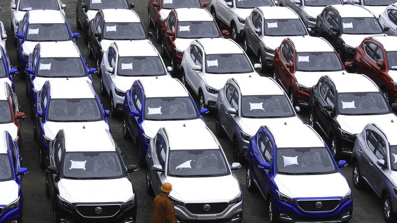 Pour s'internationaliser, le constructeur chinois SAIC compte sur l'électrique et la marque MG connue en Europe.