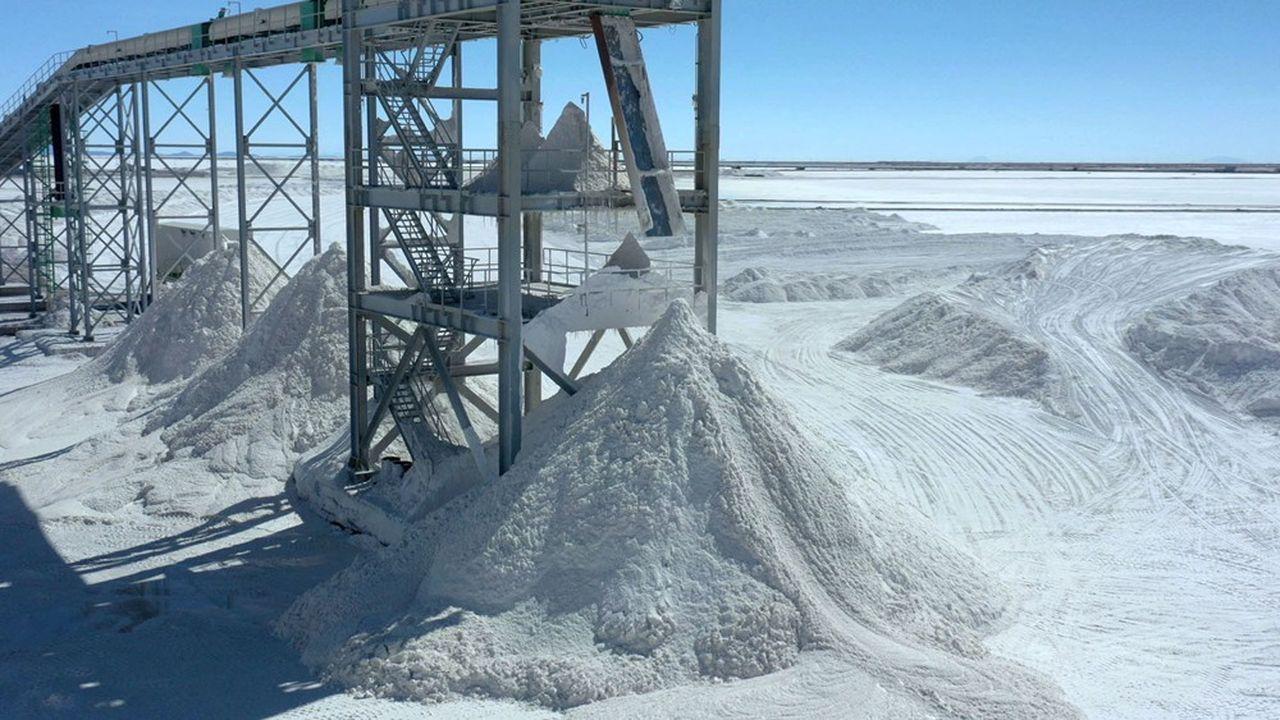 Selon les prévisions de l'AIE, la demande en lithium va être multipliée par 40 entre2020 et2040.