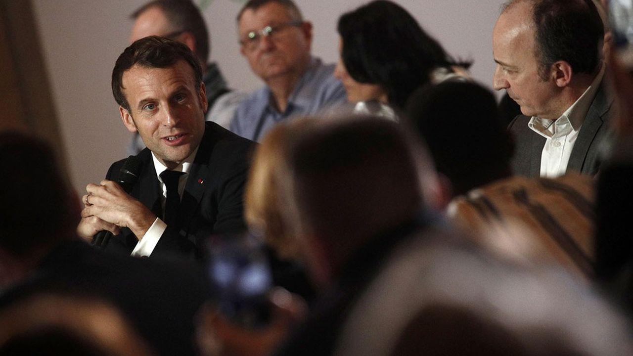 Emmanuel Macron avait annoncé le référendum lors de sa dernière réunion avec les membres de la Convention citoyenne pour le climat