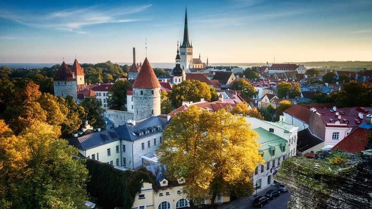 Rallinn, capitale de l'Estonie. Le petit pays baltique se pose en leader dans le numérique et dans la cybersécurité en Europe. Le gouvernement souhaite, malgré la pandémie, continuer à accueillir les talents étrangers.