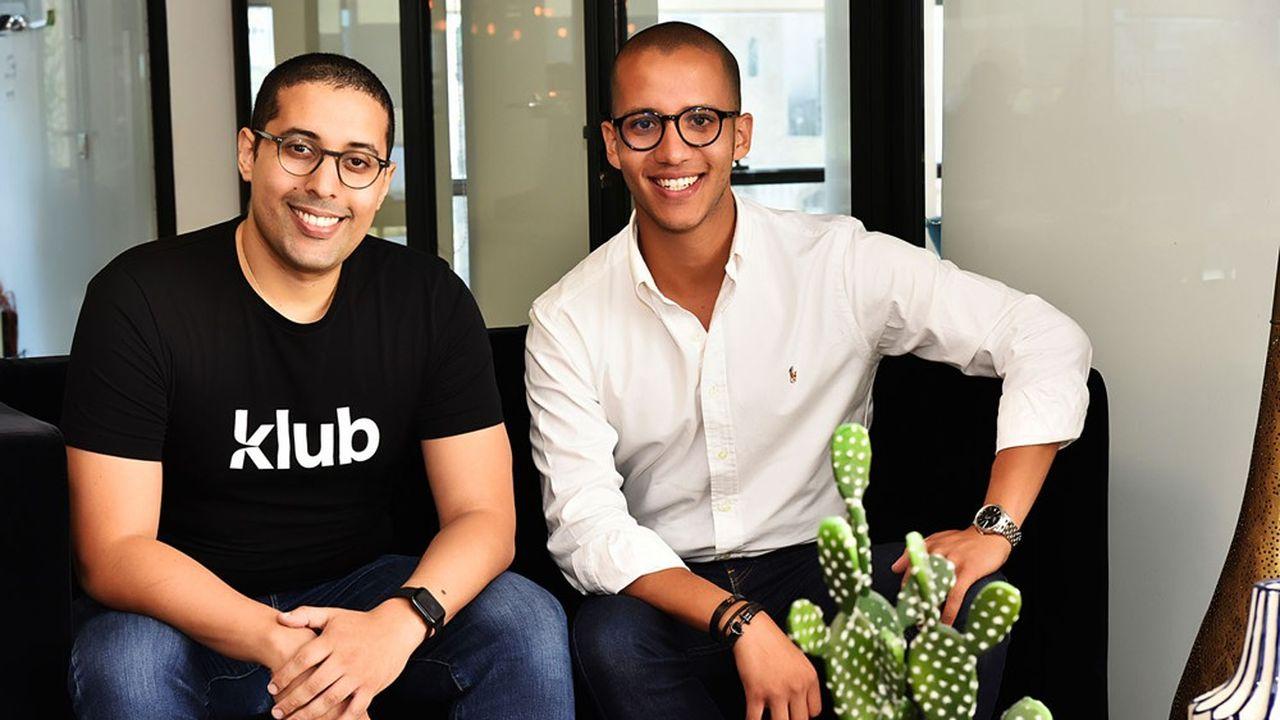 Les fondateurs de Klub.
