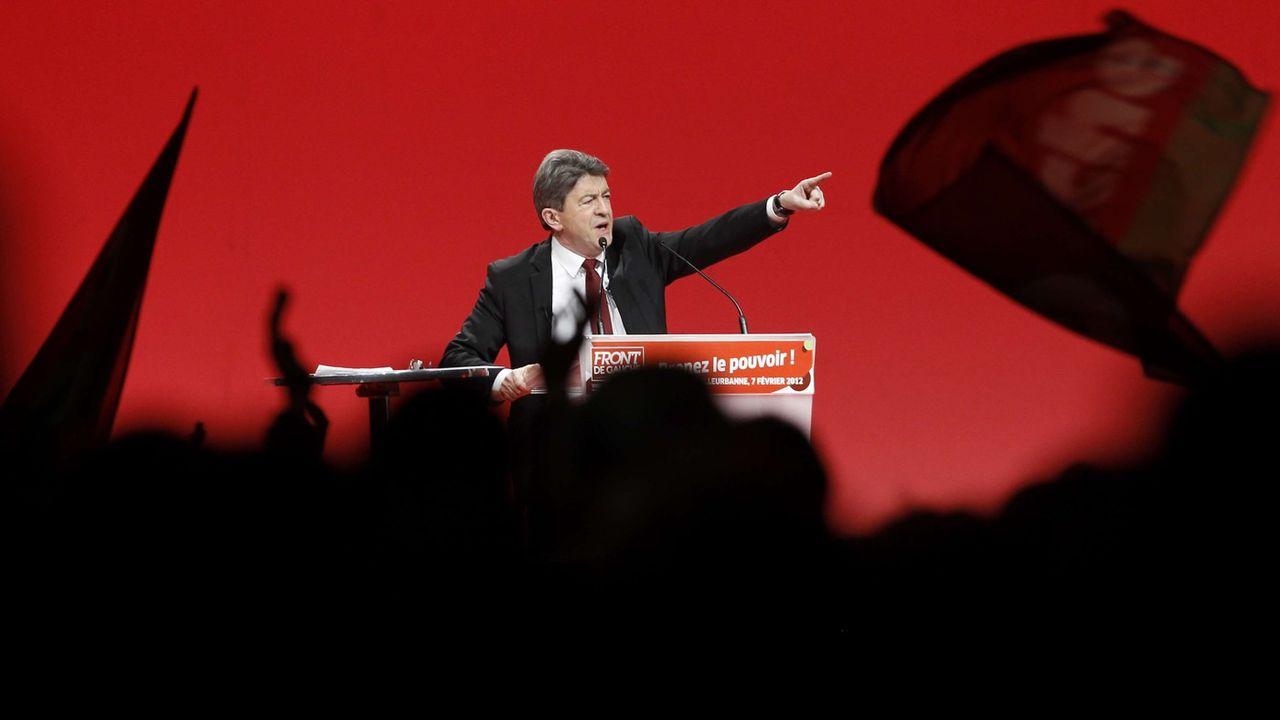 Jean-Luc Mélechon : son parcours politique en photos