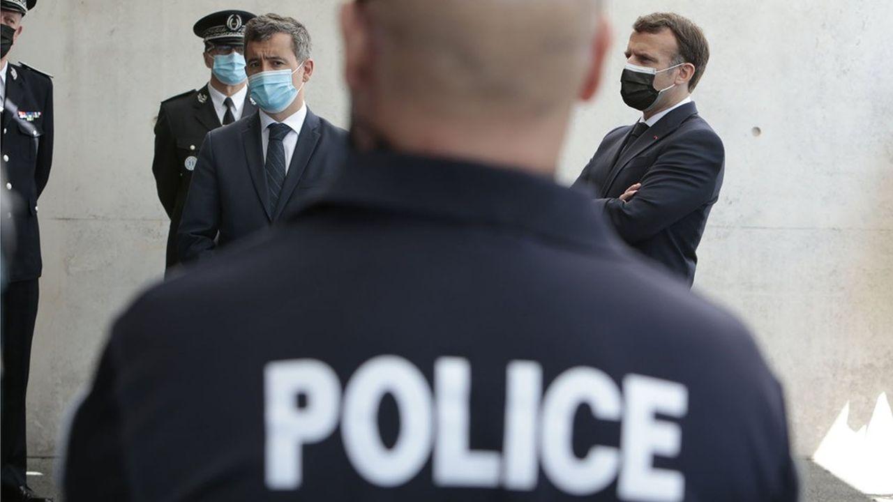 Une réunion devait se tenir lundi soir à Matignon avec les syndicats policiers en vue d'améliorer la réponse pénale