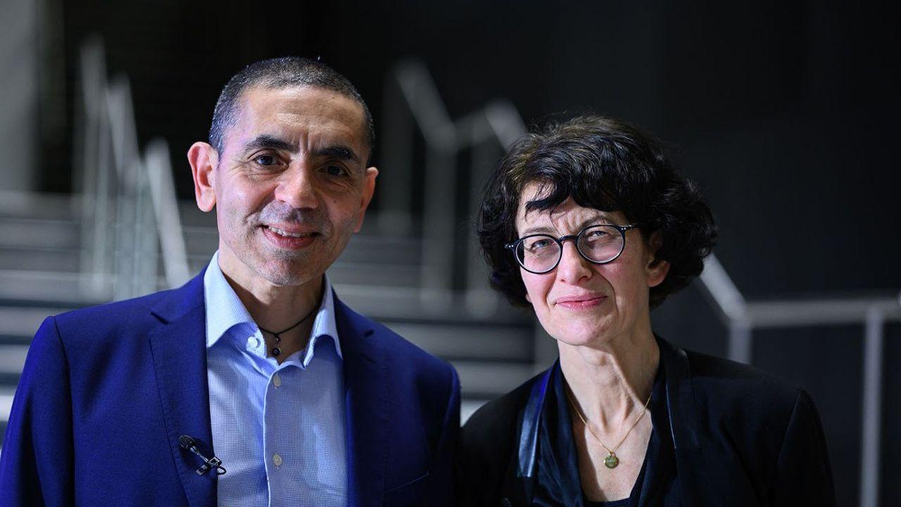 Le couple fondateur de BioNTech, Ugur Sahin et Ozlem Tureci, est respectivement directeur général et directeur des questions médicales de la société.