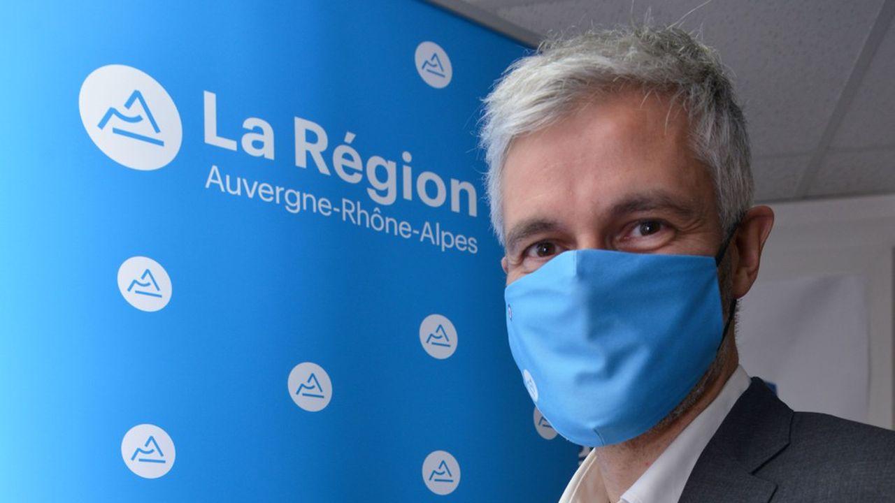 Laurent Wauquiez, qui est candidat à sa réélection à la tête de larégion Auvergne-Rhône-Alpes, est ultra-favori.