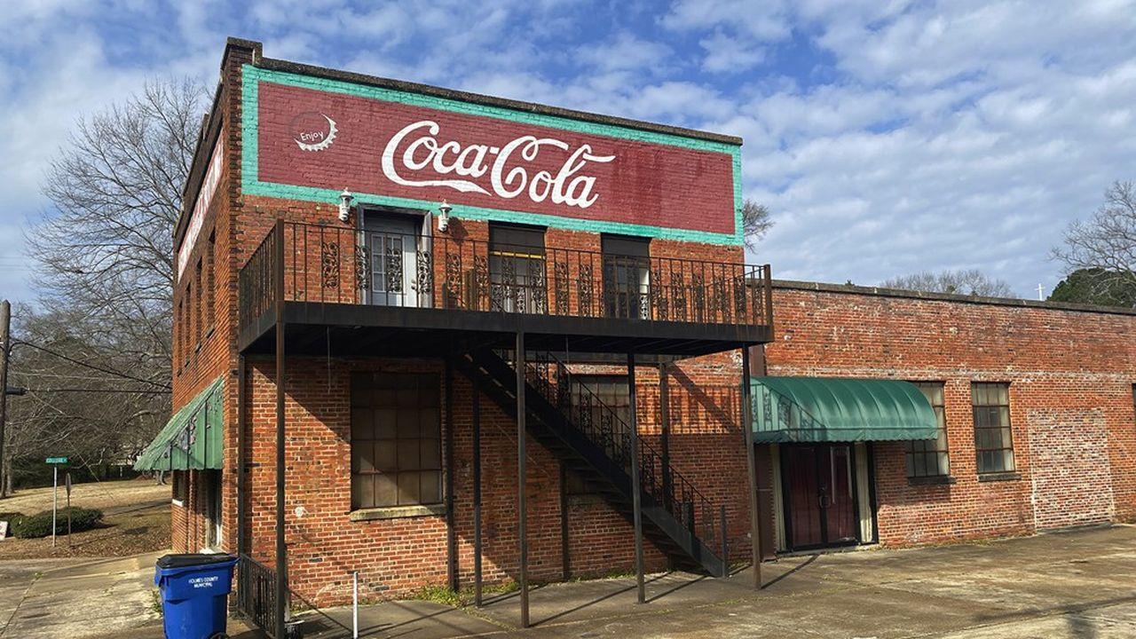 Certaines villes du comté de Holmes, comme ici à Lexington, à une heure au nord de Jackson, étaient déjà plongées dans la crise avant le Covid.