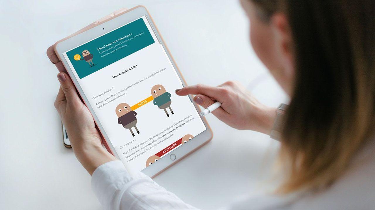 Bloom at work interroge régulièrement les salariés d'une entreprise pour mesurer leur satisfaction ou leur taux d'engagement par exemple.