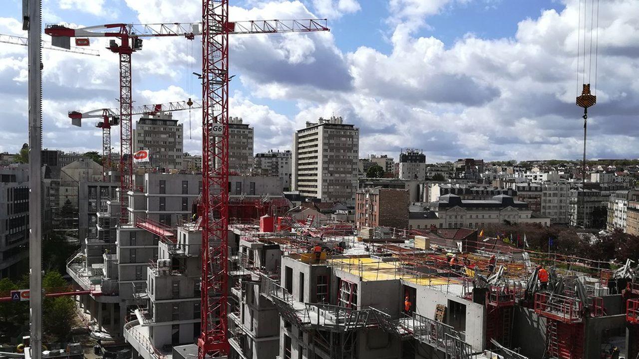 Le chantier d'Issy coeur de ville à Issy-les-Moulineaux est l'un des plus importants d'Ile-de-France.