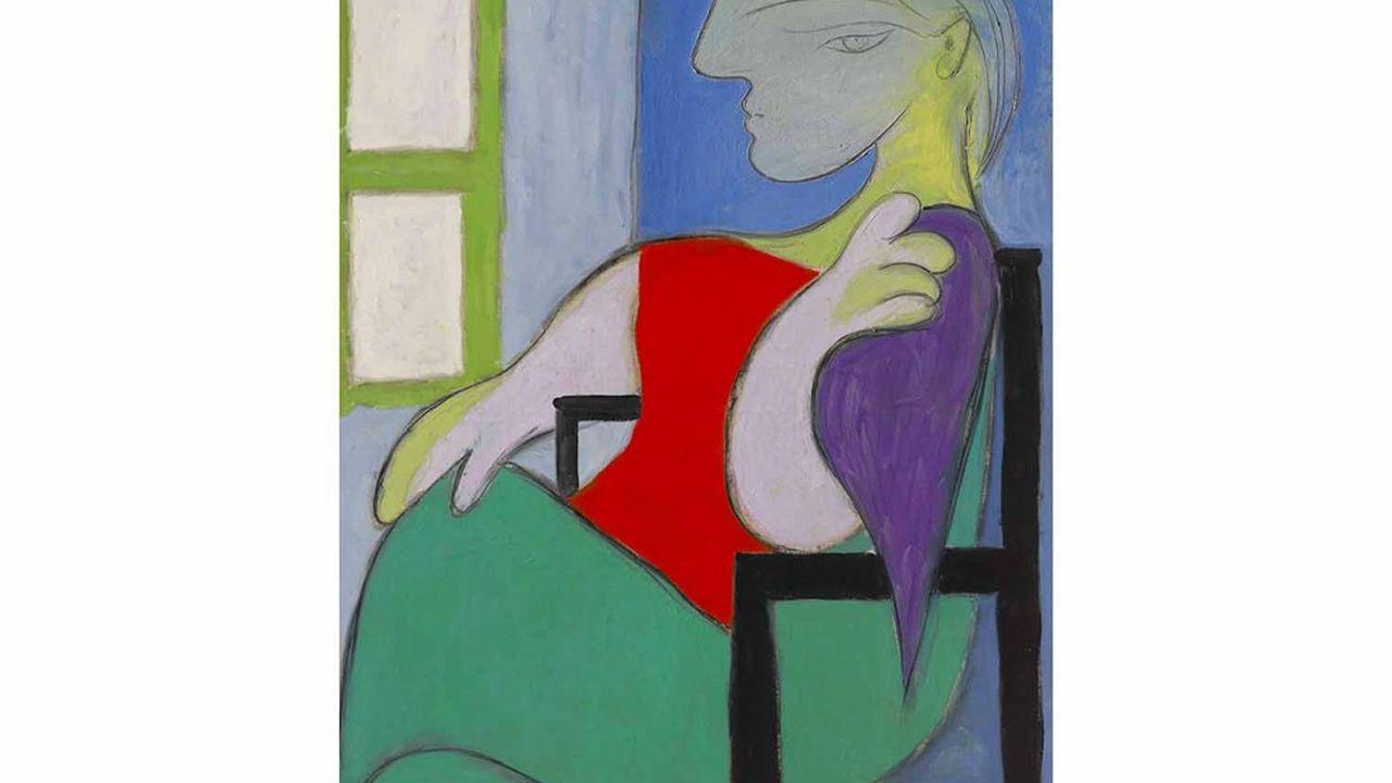 Le tableau « Femme assise près d'une fenêtre » (Marie-Thérèse) de Picasso pourrait être l'un des lots phares de cette semaine.