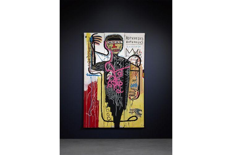 L'intérêt pour Basquiat ne faiblit pas, et les deux maisons de vente rivale proposeront le leur.