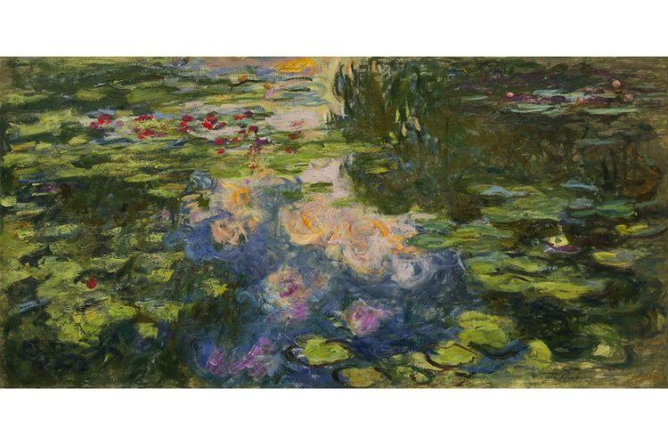Ce « Bassin aux nymphéas » de Monet (1917-1919) devrait se tailler un beau succès.