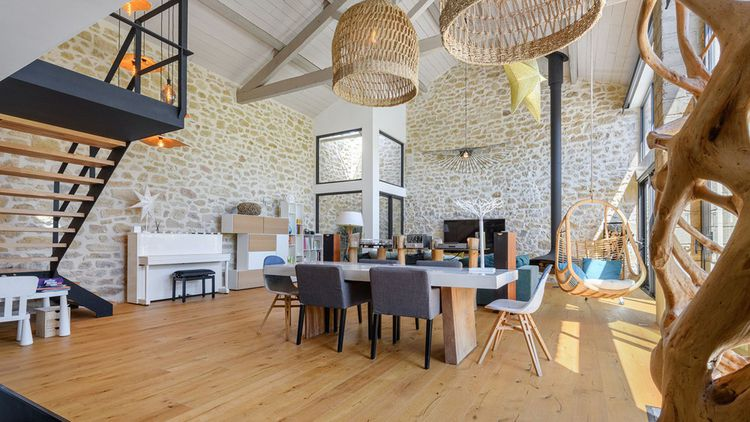 Une maison d'architecte avec piscine à Salon-de-Provence