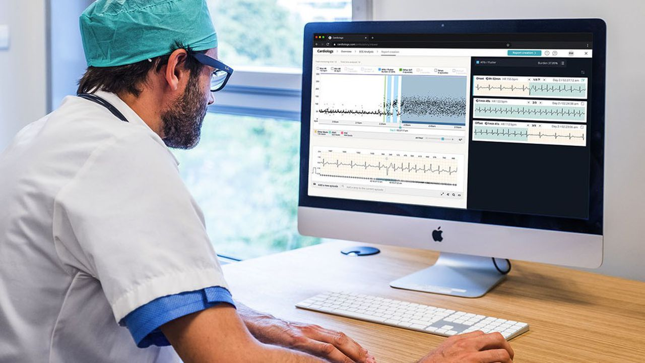 La start-up parisienne analyse les données de masse collectées sur un patient sur une période longue.
