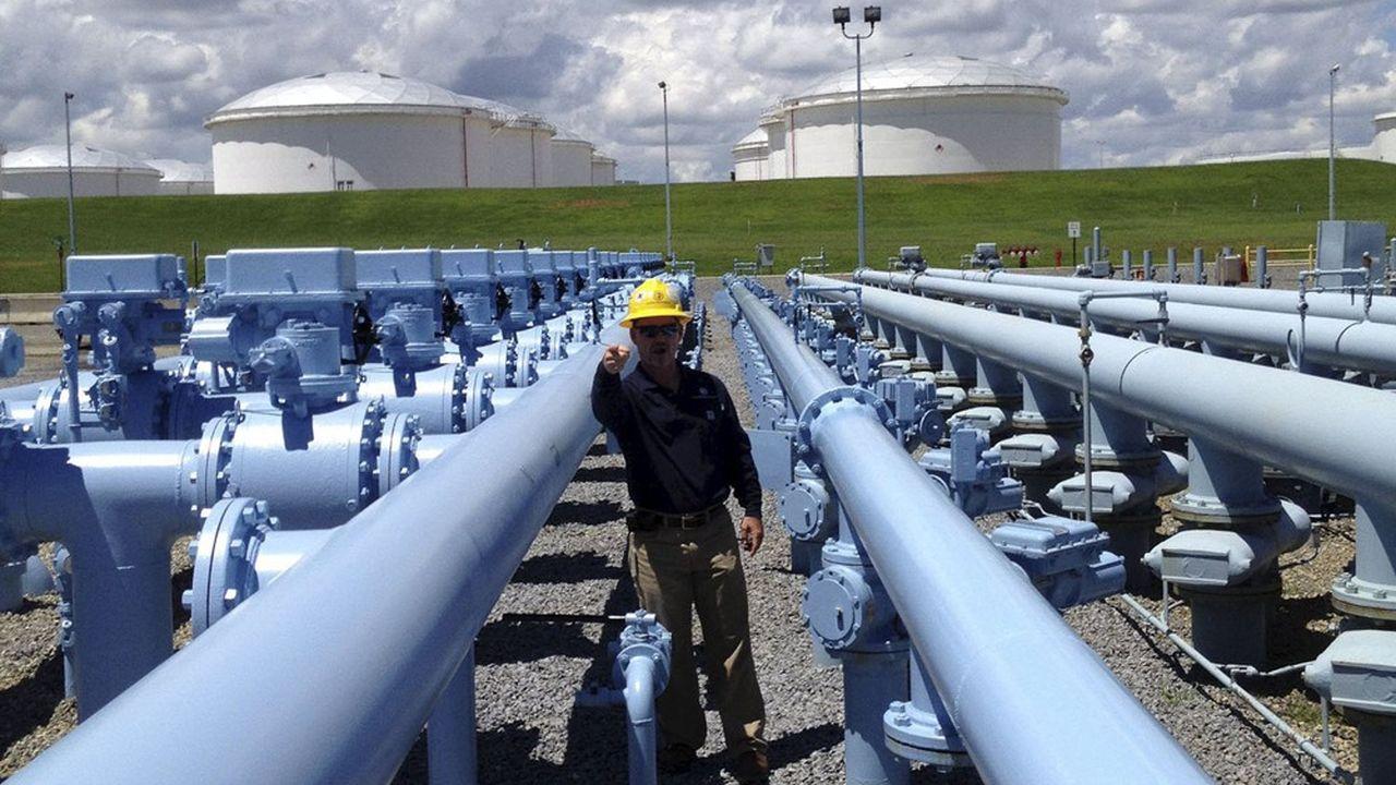 Colonial Pipeline transporte en temps normal 45% de la consommation de produits raffinés de la côte Est.