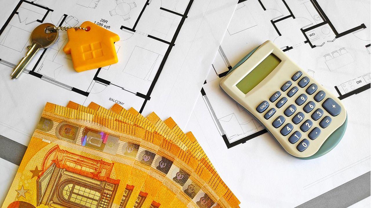 les banques ont eu beaucoup de dossiersde crédit immobilier à traiter ces dernières semaines sous l'effet des taux bas et d'une forte demande.