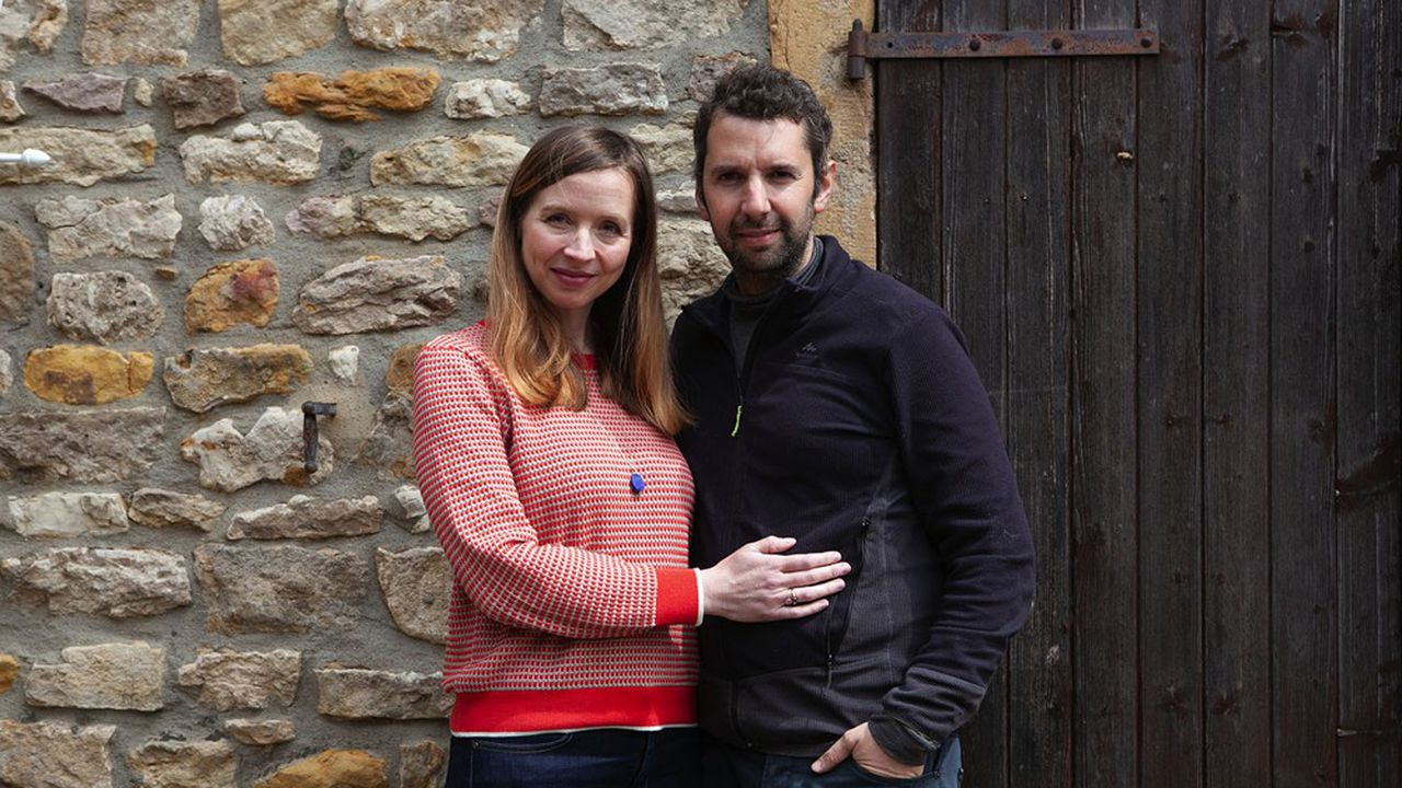 Marianne et Benoît Merchier ont baptisé leur domaine La Famille K en référence à l'initiale du nom de jeune fille de Marianne.