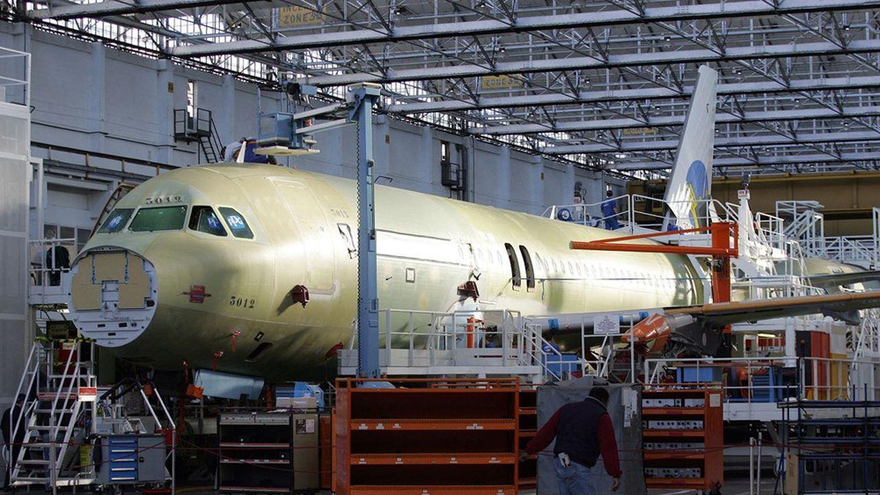 Les chaînes d'assemblage de la famille A320 à Toulouse ont grand besoin d'être modernisées.
