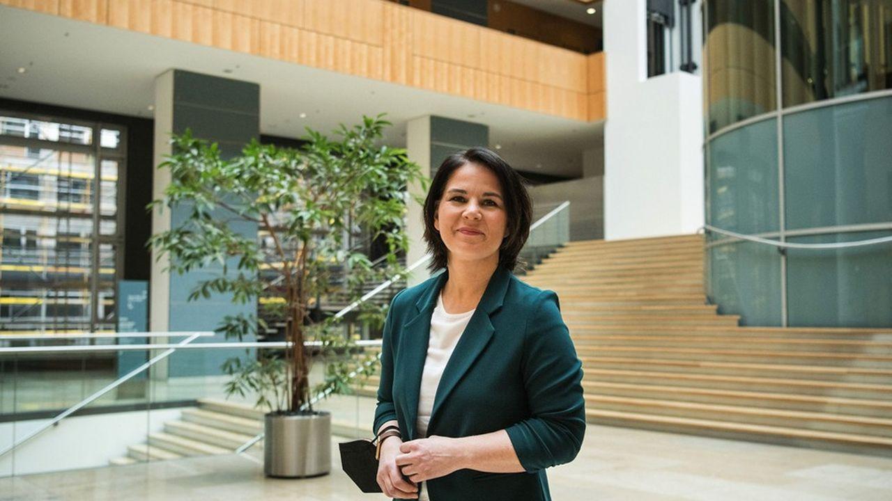 Annalena Baerbock, candidate des Verts à la chancellerie.