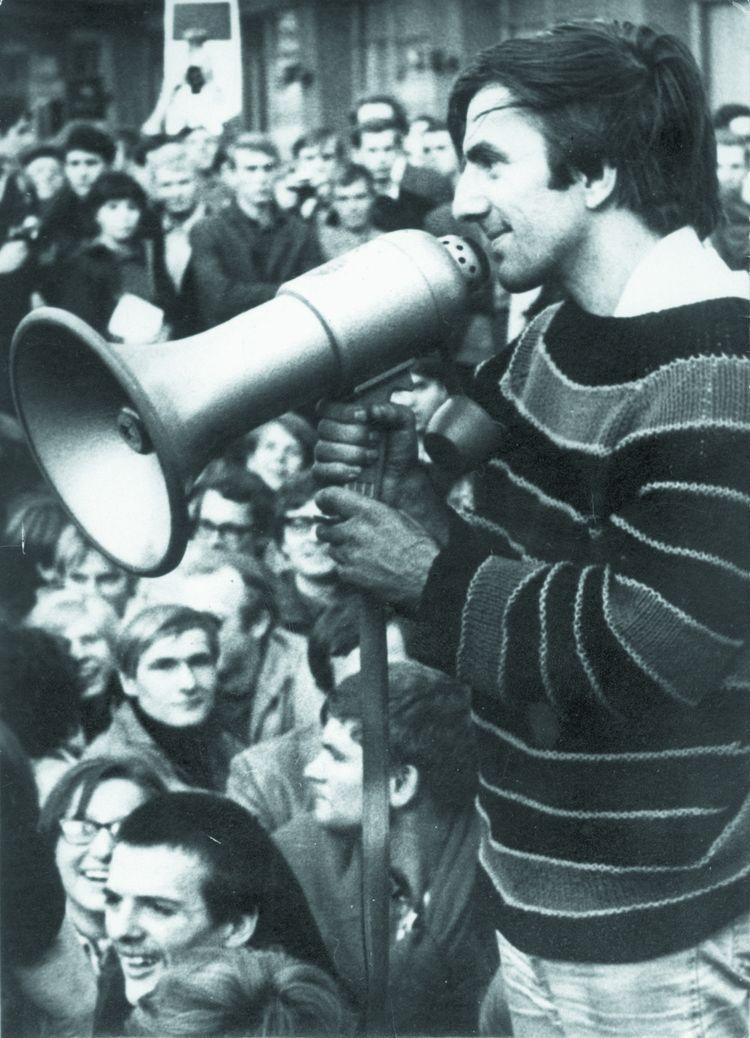 L'activiste et homme politique allemand Rudi Dutschke.