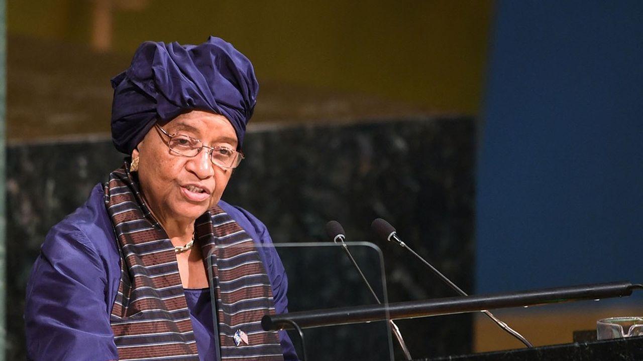 Prix Nobel de la paix, l'ancienne présidente du Liberia, Ellen Johnson Sirleaf, a géré en son temps une épidémie d'Ebola. Elle est la coprésidente du panel indépendant qui a évalué la réponse mondiale à la pandémie.