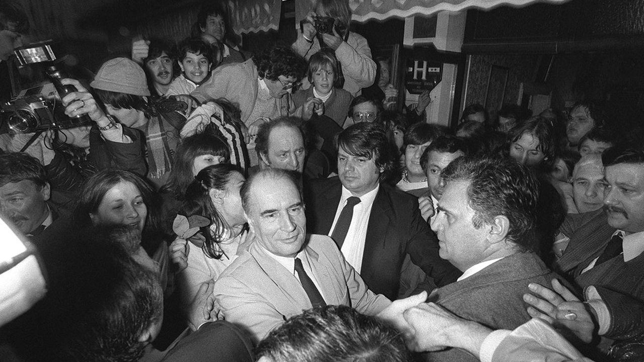 La victoire de François Mitterrand le 10mai 1981 provoqua une onde de choc à la Bourse de Paris et sur le franc
