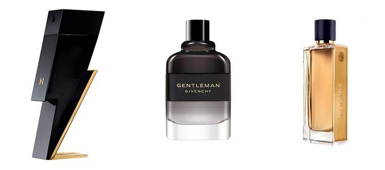 Bad Boy de Carolina Herrera, Eau de parfum boisée de Givenchy et Iris Torréfié de Guerlain.