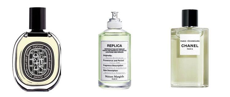 Orphéon de Diptyque, Replica Matcha Meditation de Maison Margiela et Paris-Edimbourg de Chanel.