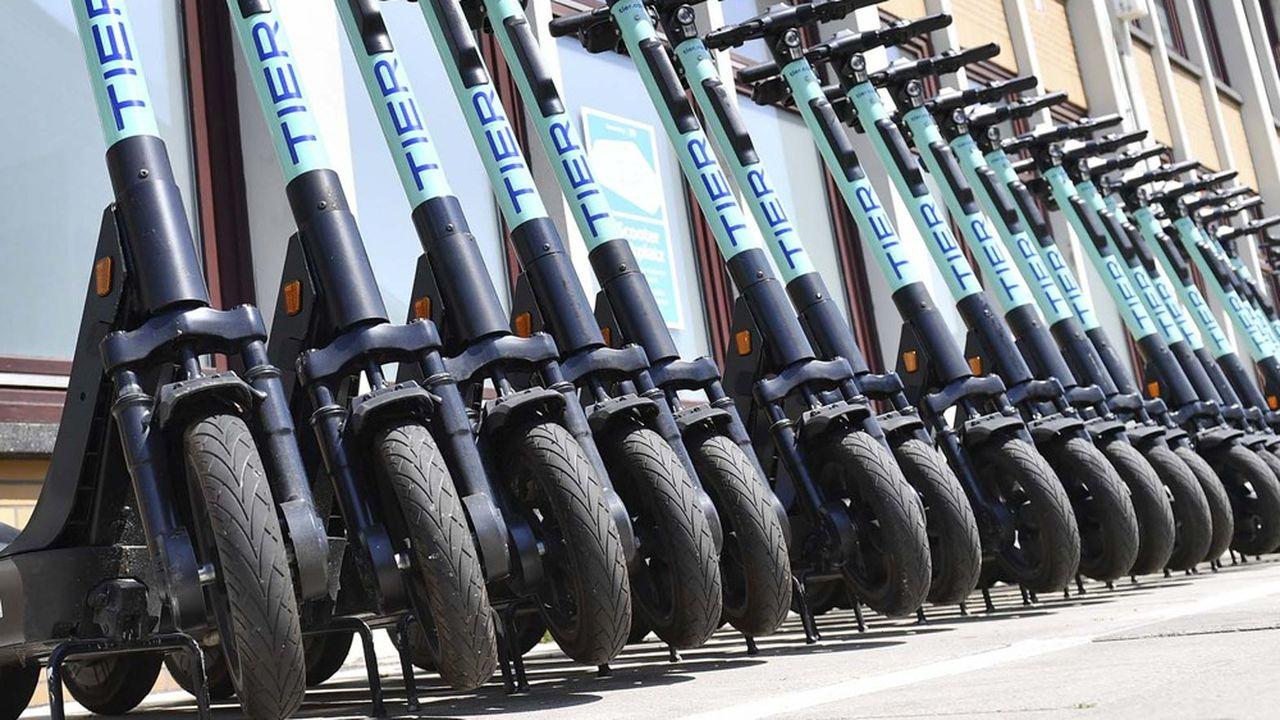 1.000 trottinettes électriques de l'opérateur Tier Mobility sont disponibles dans les communes de la communauté d'agglomération de Saint-Quentin-en-Yvelines.