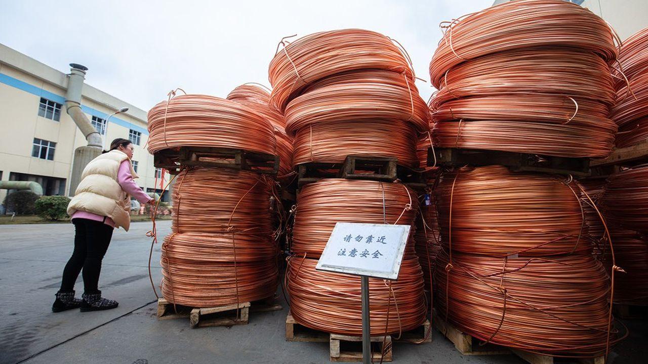 La reprise chinoise booste les prix des métaux.