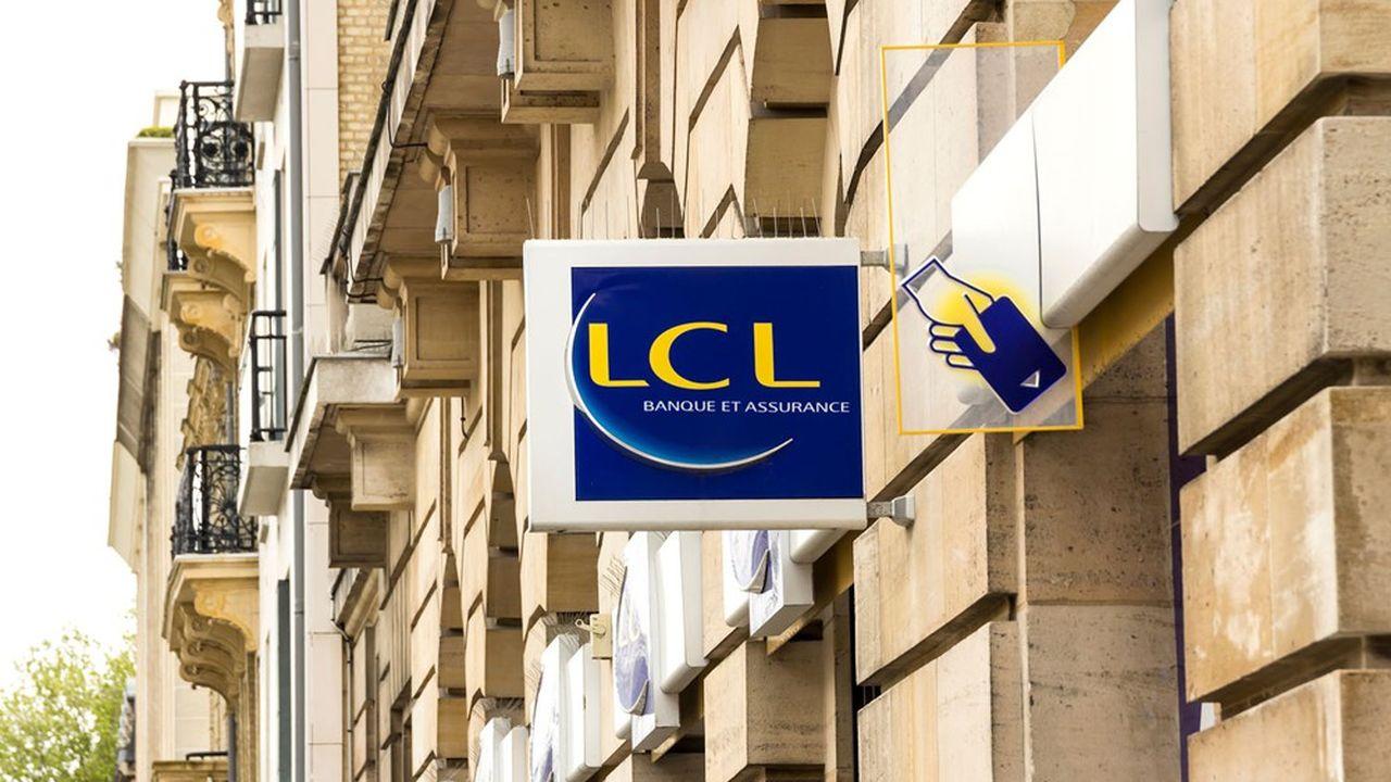 LCL compte 6millions de clients.