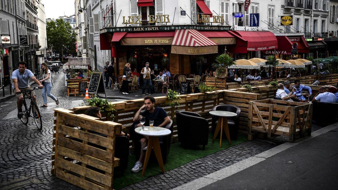 Restaurants : les terrasses, première étape de la reprise
