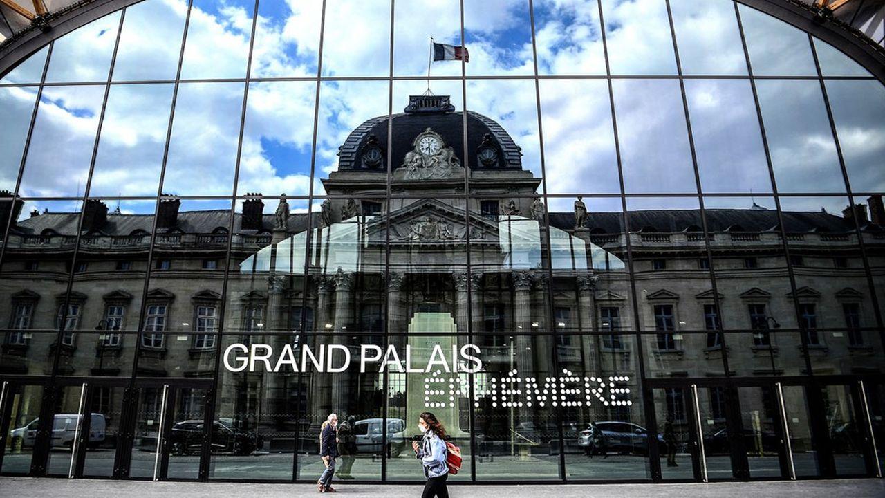 Le Grand Palais Ephémere, installé sur le Champ-de-Mars, à Paris, va abriter le sommet international sur le financement des économies africaines.
