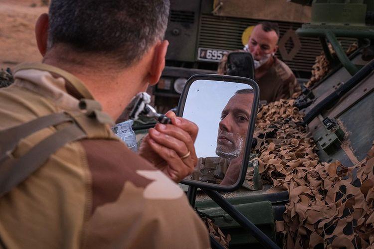 LES EHOS: Sur le front de l'opération Barkhane, reportage réalisé dans la zone des trois frontières, au nord du Burkina Faso du 5 au 14 avril 2021 Image