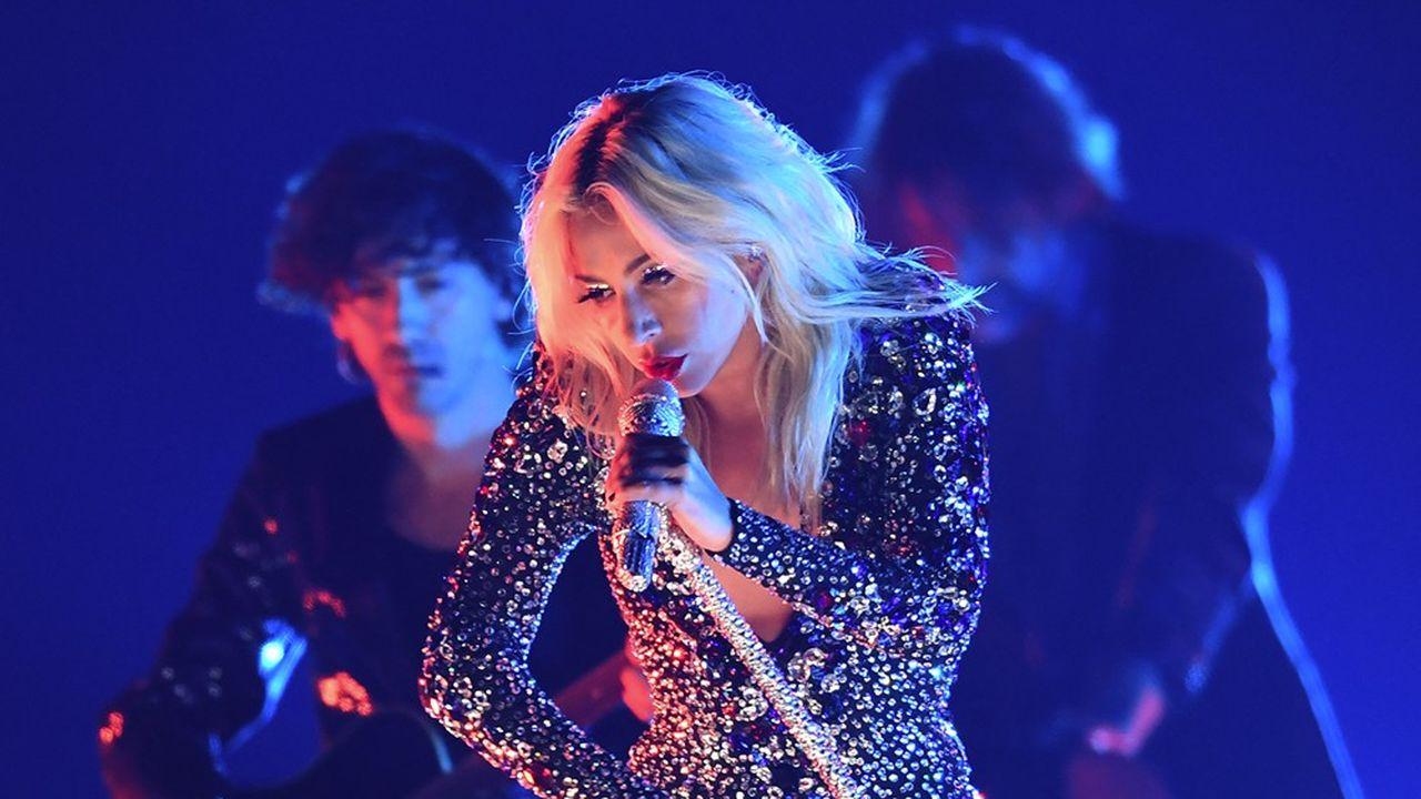 Les artistes d'UMG comme Lady Gaga ont permis au groupe de dégager 135millions d'euros de bénéfices au premier trimestre.