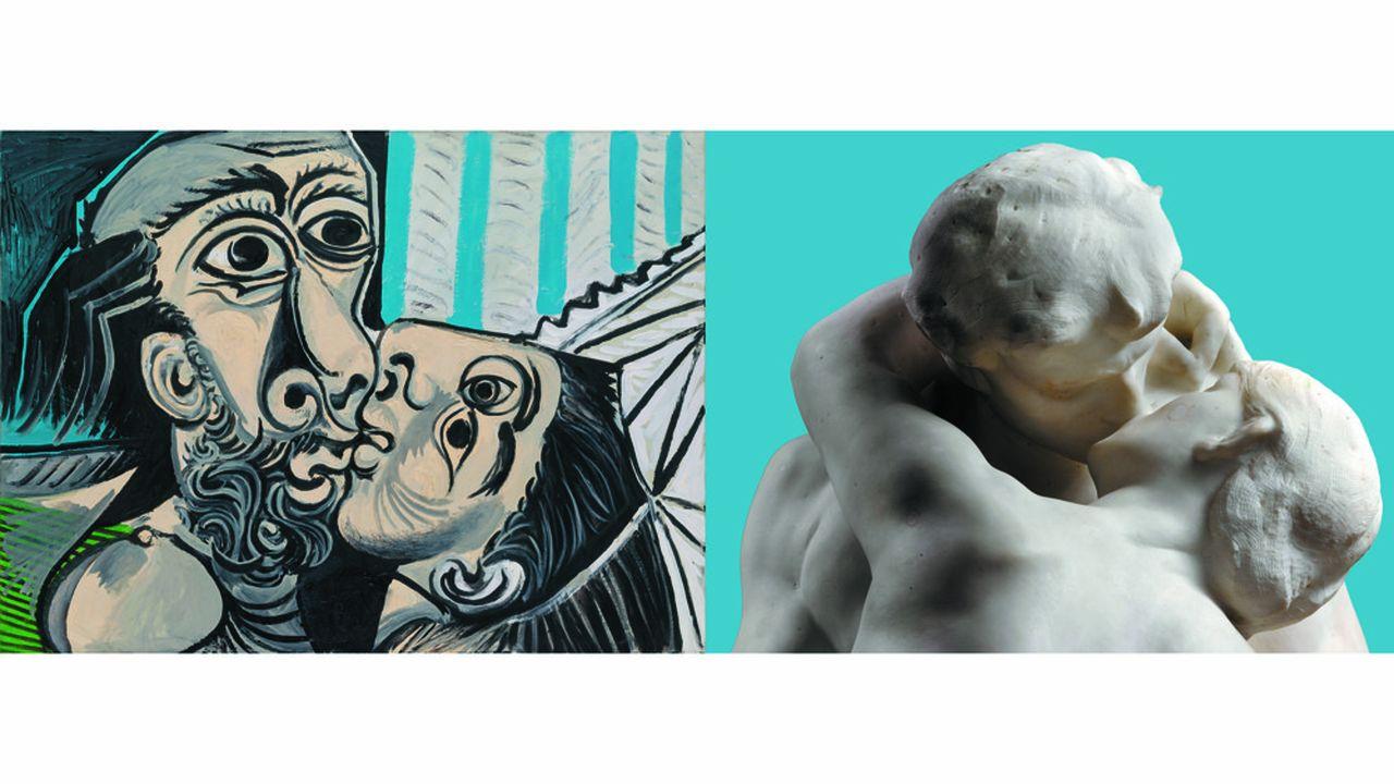 Le musée Picasso propose un dialogue imaginaire entre son champion des peintres du XXesiècle et Rodin qui réinvente le mouvement en sculpture.