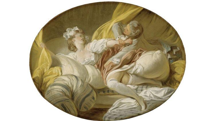 Jean-Honoré Fragonard, «La Résistance inutile», vers 1770-1773. «L'empire des sens» au musée Cognac-Jay.