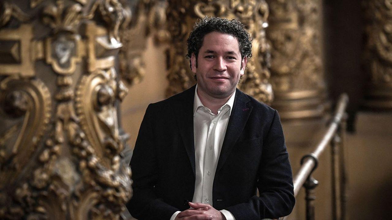Le chef vénézuélien virtuose Gustavo Dudamel, le nouveau directeur musical de l'Opéra de Paris
