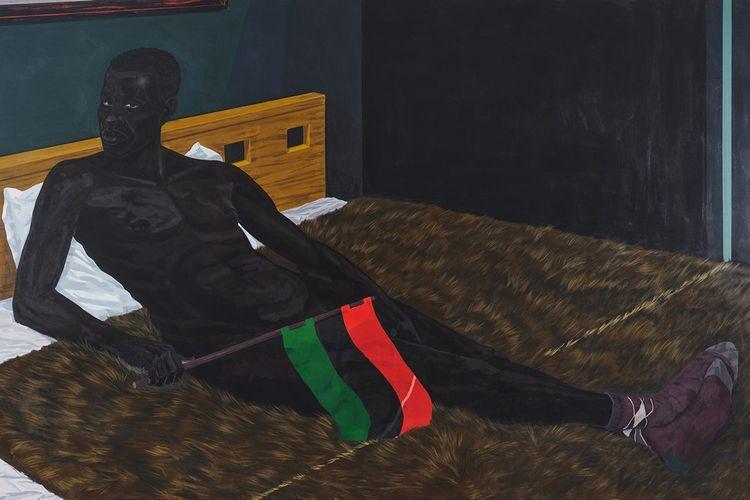 Kerry James Marshall, «Untitled», 2012. Acrylique sur PVC.