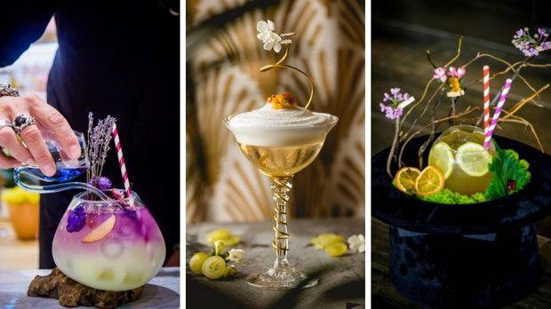 Dans ses cocktails, le bartender utilise des fleurs, des herbes, des racines, des épices, des poivres…