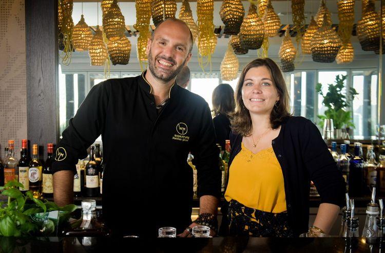 Matthias Giroud et son associéeMélinda Guérin-White ont lancé leur entreprise spécialisée dans la création de cocktails sur mesure en 2018.