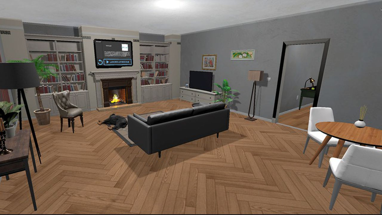 Les jeux de réalité virtuelle d'Oddity permettent d'observer comment le salarié fait face aux perturbations du télétravail.